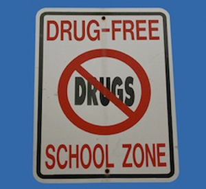drug-free school zone